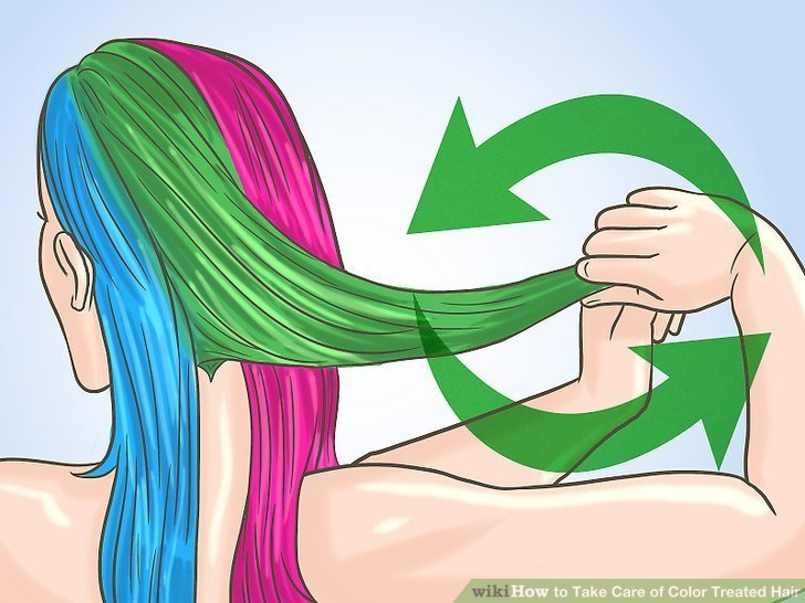 The Best How To Take Care Of Color Treated Hair With Pictures