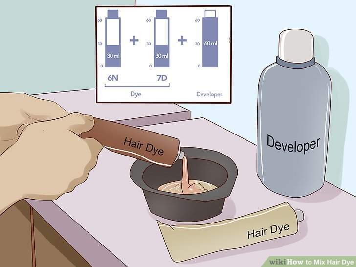 The Best How To Mix Hair Dye 11 Steps With Pictures Wikihow Pictures