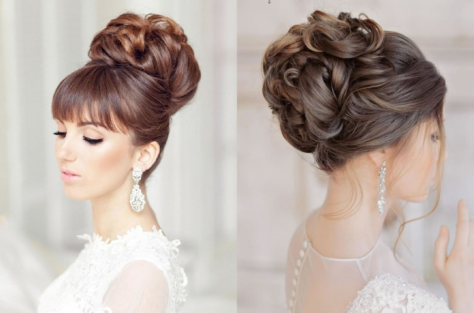 The Best Wedding Hairstyles Down 2019 Hair Colors Pictures