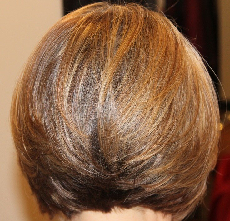 The Best Short Layered Bob Hairstyles Front And Back View Pictures