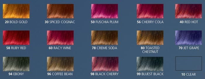 The Best Jazzing Hair Color Chart Directions Shades Rinse Pictures