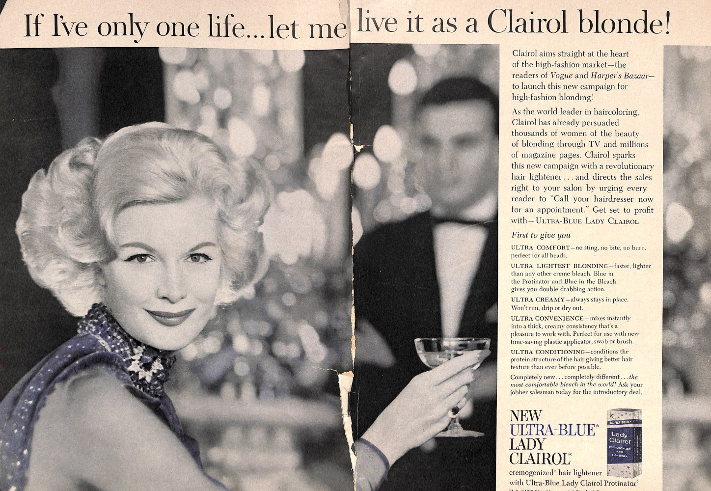 The Best Lady Clairol Hair Lightener Vintage 1960S Hair Ad Pictures