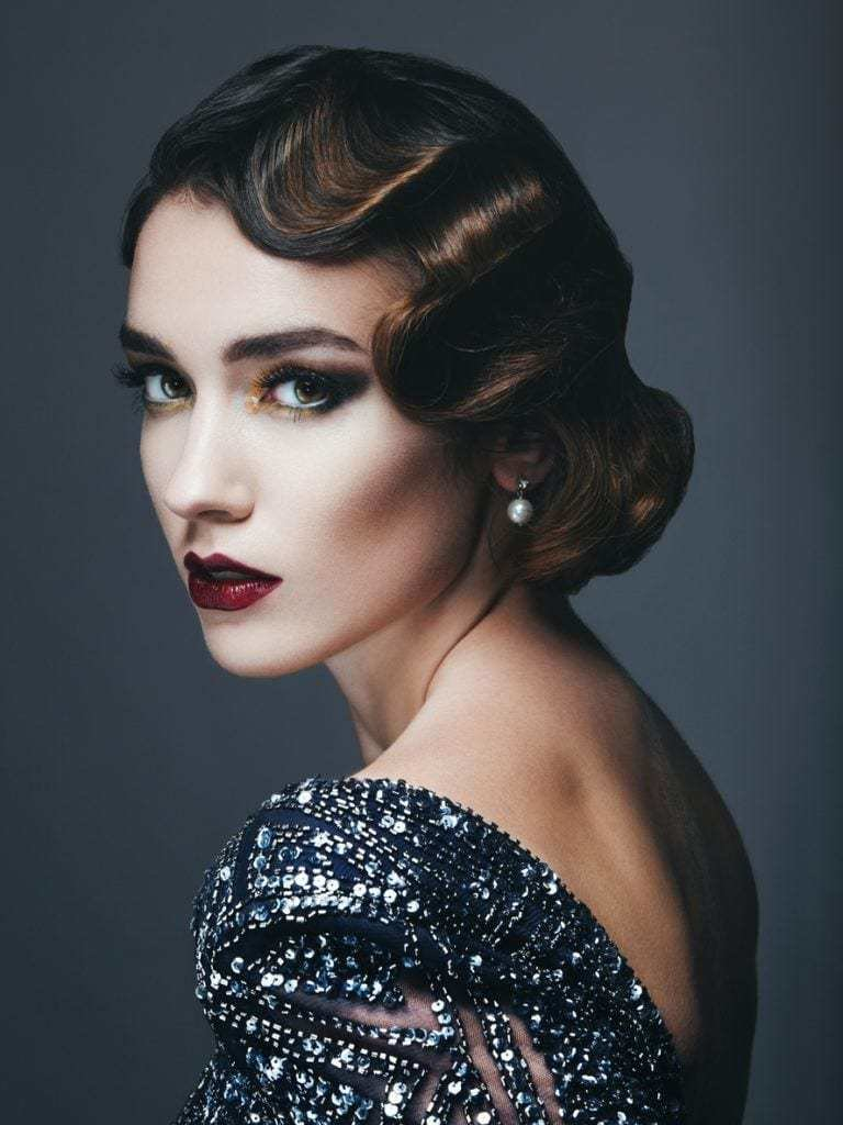 The Best 16 Flapper Hairstyles For Long Hair Easy Style Ideas With Pictures