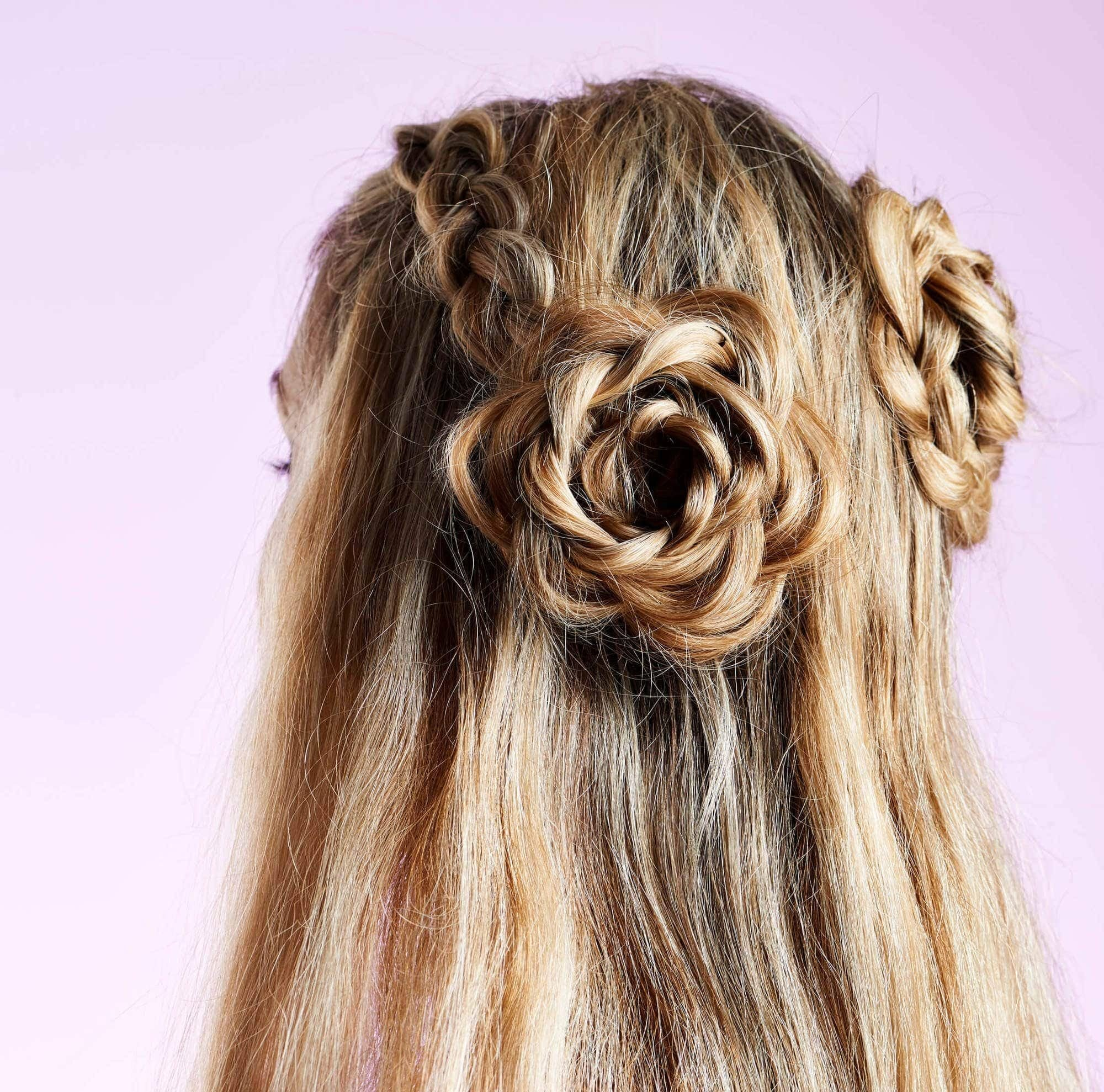 The Best In Bloom 10 Flower Hairstyles We're Gushing Over Now Pictures