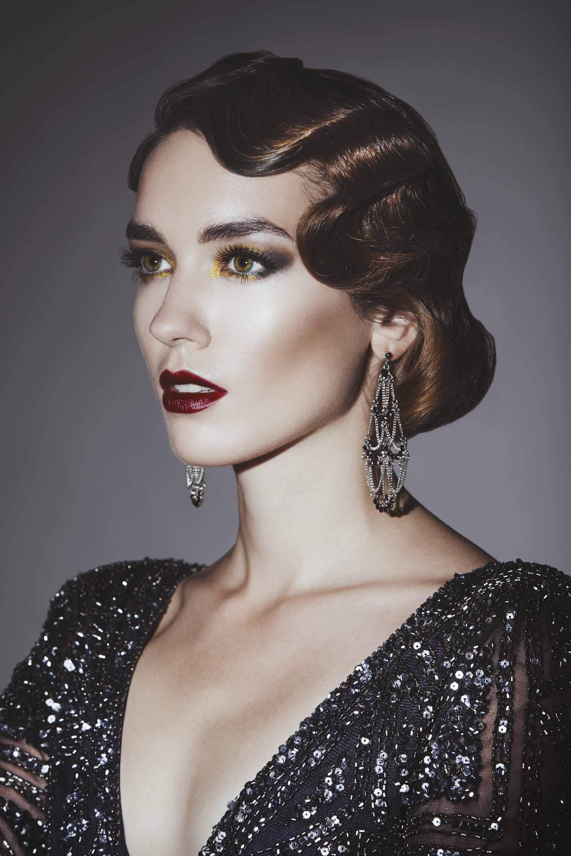 The Best 11 Great Gatsby Inspired Hair Ideas For Halloween And Pictures Original 1024 x 768