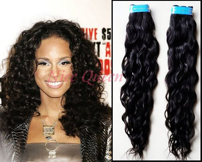 The Best 22 Inch Brazilian Loose Curly Hair Alicia Keys Style On Pictures