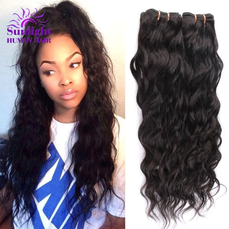 The Best Brazilian V*Rg*N Hair Water Wave 3 Bundles Wet And Wavy Pictures