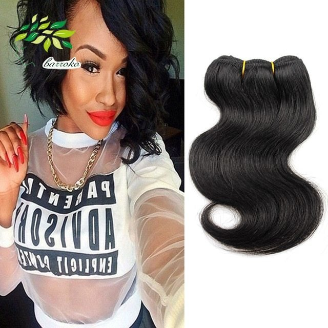 The Best New Hairstyle Free Shipping7A Grade Brazilian V*Rg*N Hair Pictures