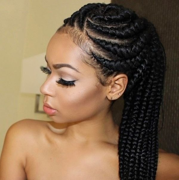 The Best Cornrow Hairstyles Different Cornrow Braid Styles Pictures