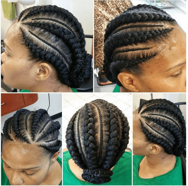 The Best Cornrow Hairstyles Different Cornrow Braid Styles Trending In July 2019 Pictures