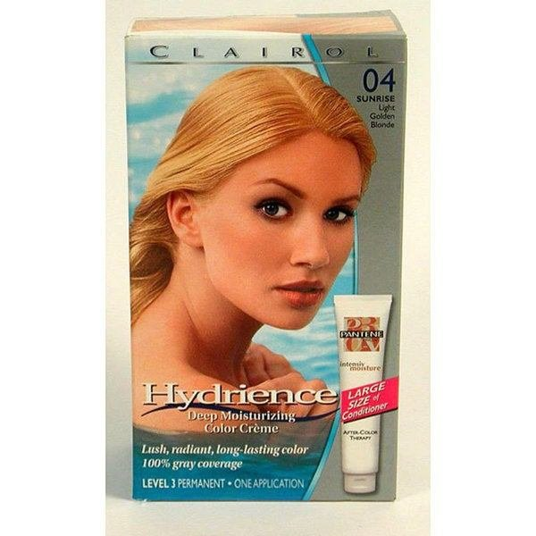 The Best Shop Clairol Hydrience 04 Sunrise Light Golden Blonde Hair Pictures