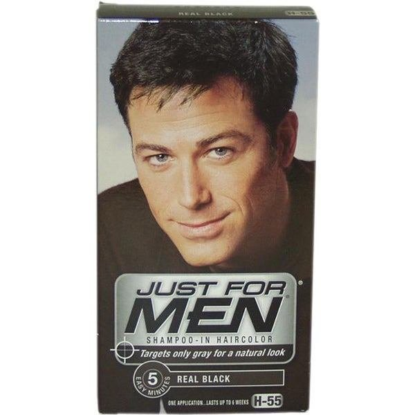 The Best Shop Just For Men Shampoo In Hair Color Real Black H 55 Pictures