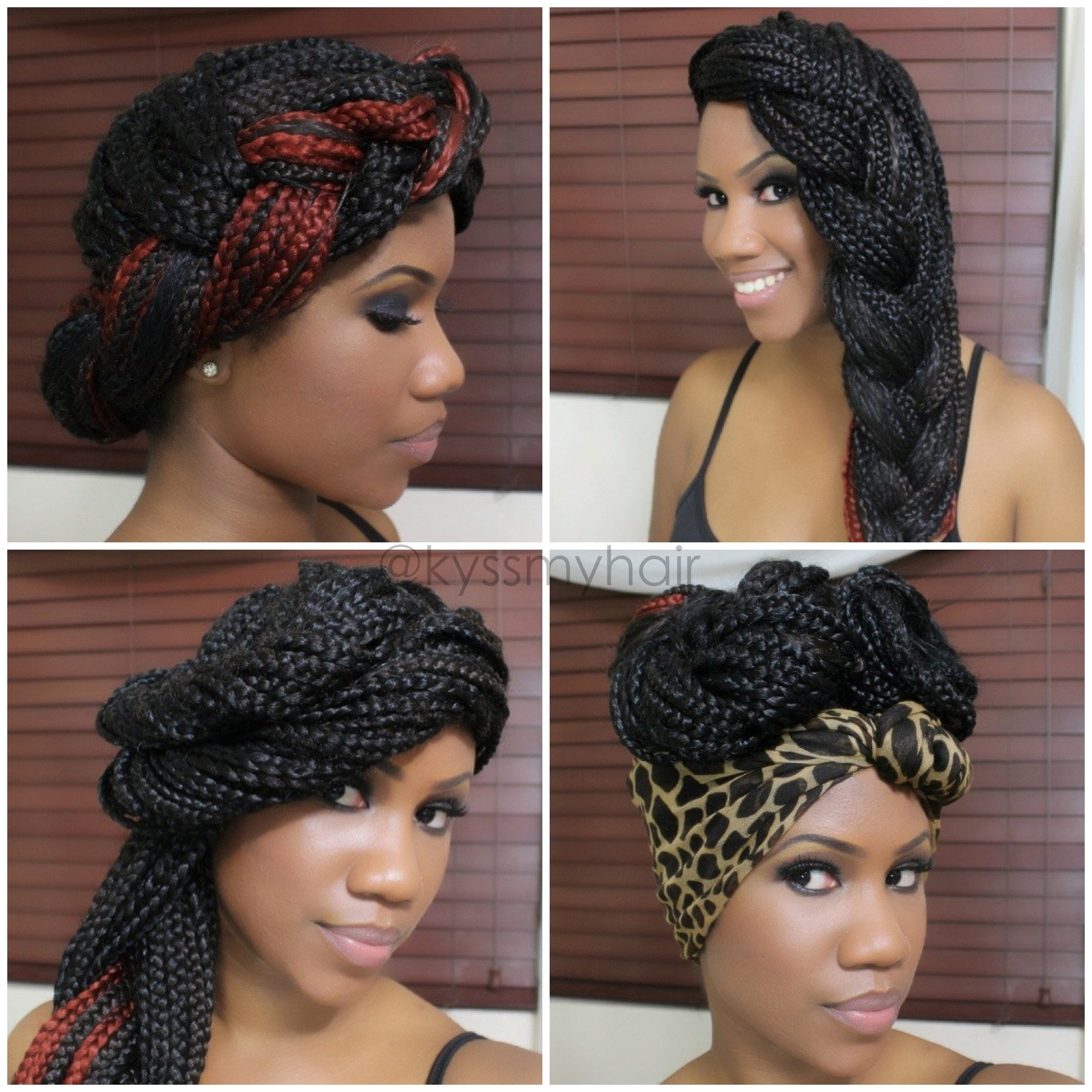 The Best 4 Simple Gorgeous Styles For Box Braids Bglh Marketplace Pictures