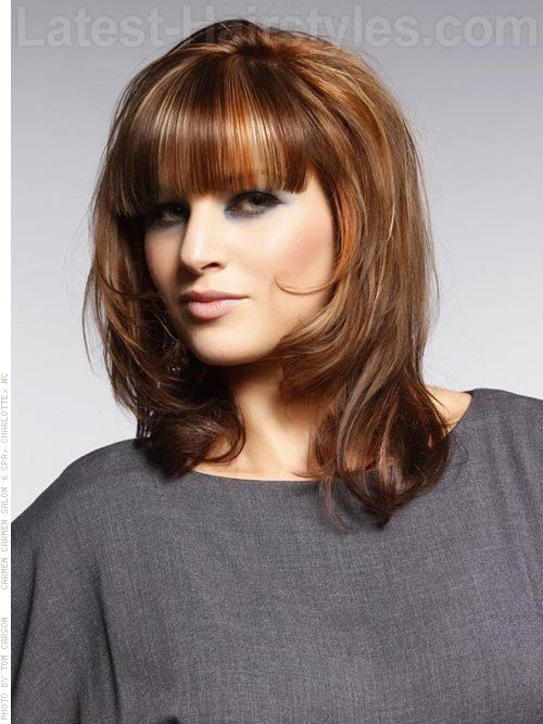 The Best 23 Perfect Medium Hairstyles For Square Faces Popular For Pictures