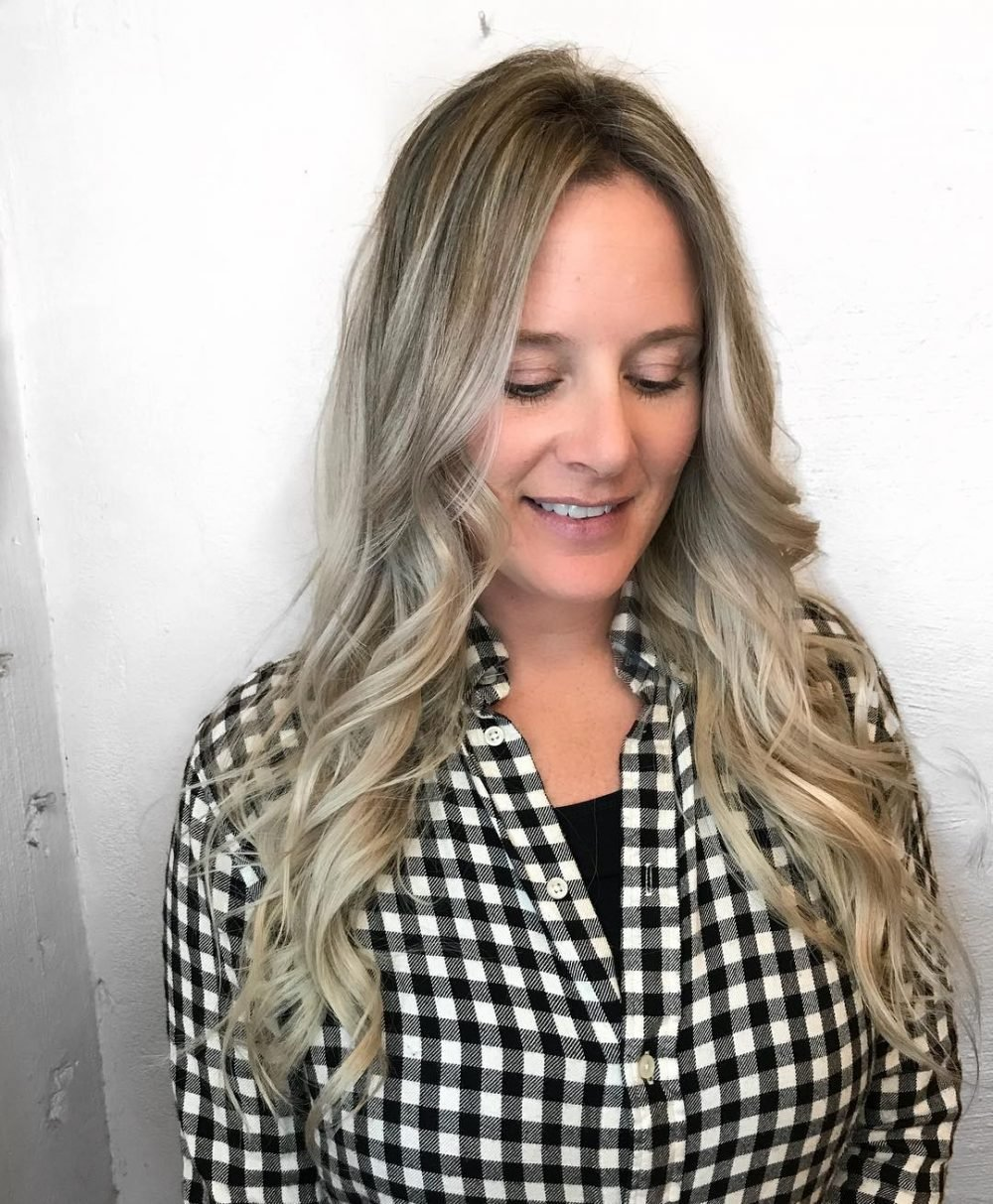 The Best 18 Most Flattering Long Hairstyles For Round Faces 2019 Pictures