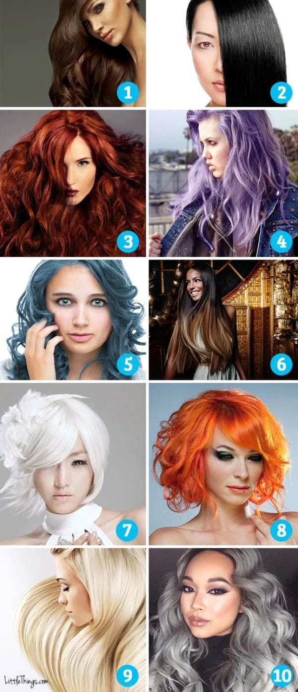The Best Which Hair Color Appeals To You It Reveals Secrets Of Pictures