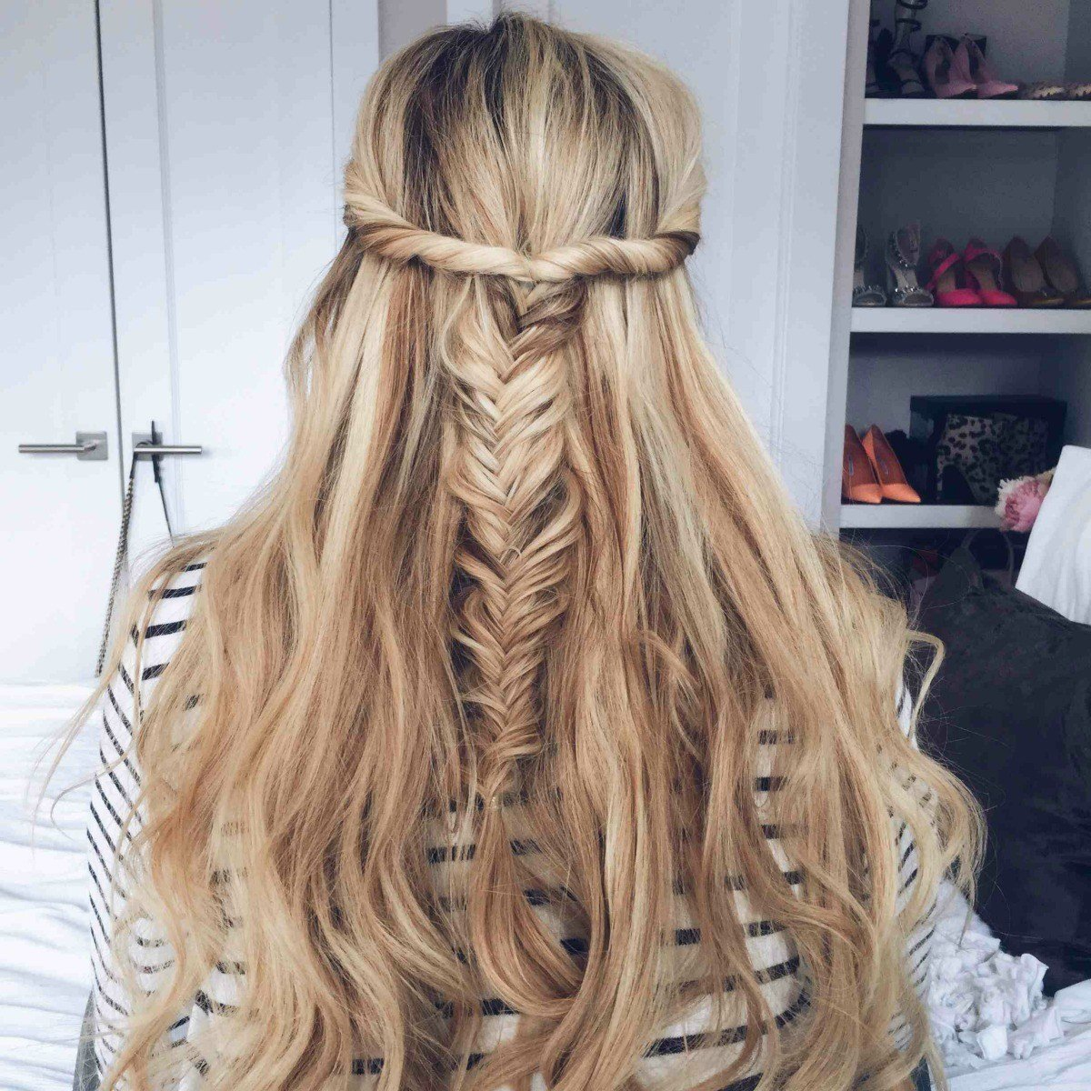 The Best 15 Casual Simple Hairstyles That Are Half Up Half Down Pictures