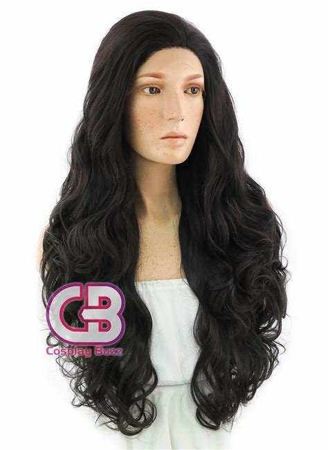 The Best Dc Wonder Woman Long Curly Natural Black Lace Front Pictures