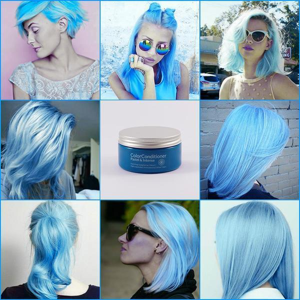 The Best Pastel Sky Blue 200 Ml Evilhair Pictures