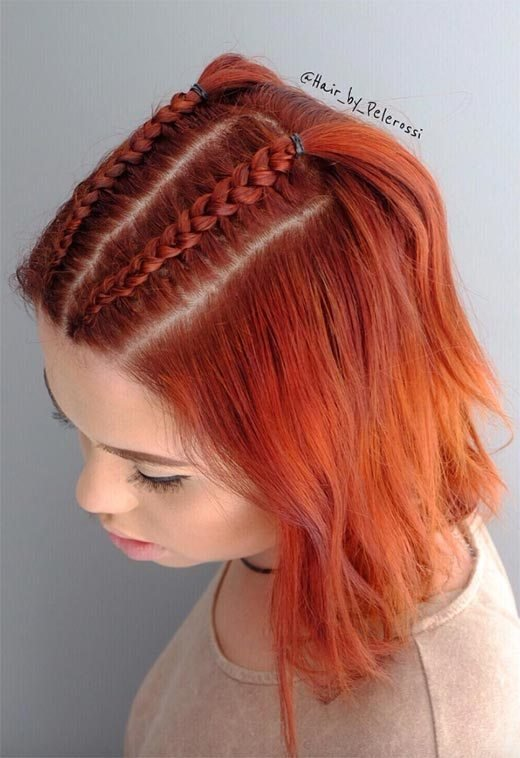 The Best 51 Cute Braids For Short Hair Short Braided Hairstyles For Women Glowsly Pictures