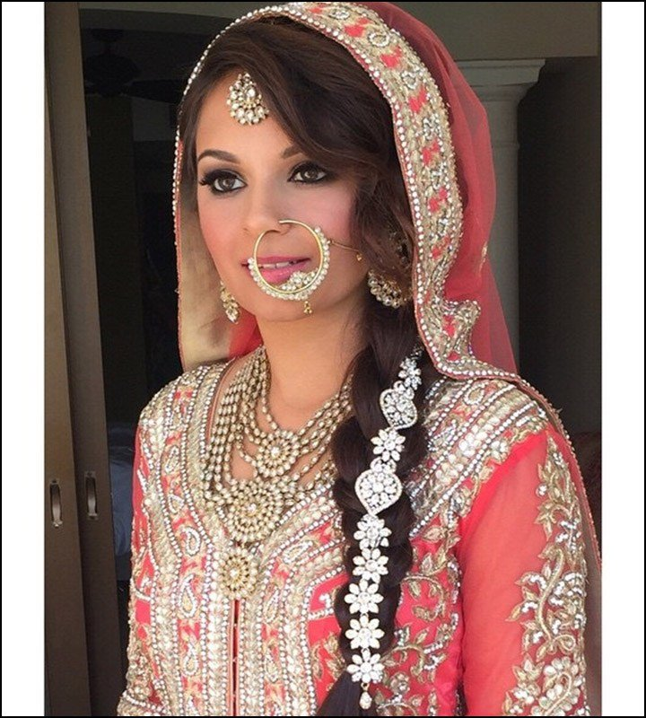 The Best Indian Bridal Hairstyles The Perfect 16 Wedding Hairdo Pics Pictures