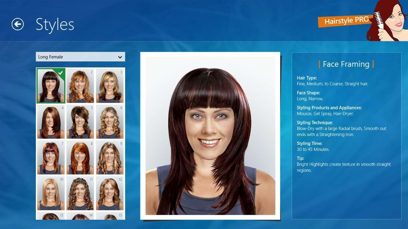 The Best Hairstyle Pro For Windows 10 Free Download And Software Reviews Cnet Download Com Pictures