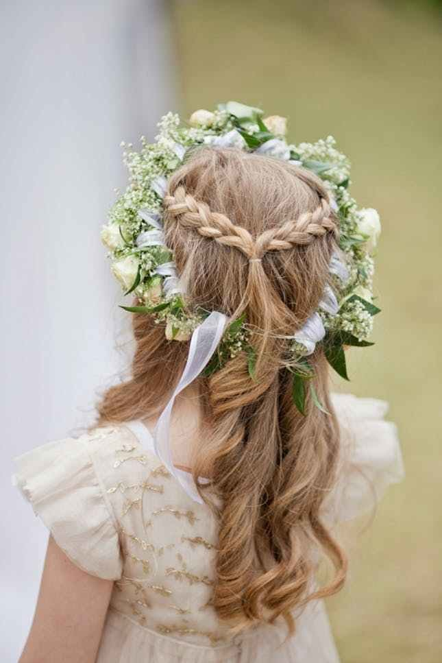 The Best 15 Gorgeous Flower Girl Hairstyles Brit Co Pictures