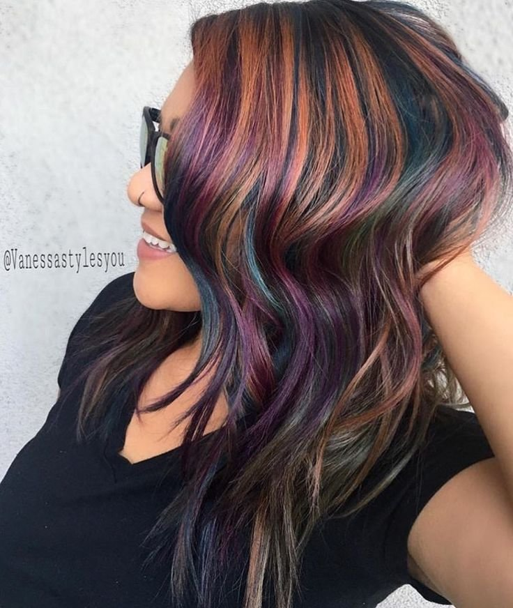 The Best Pictures Of Multi Colored Hairstyles Hair Pictures