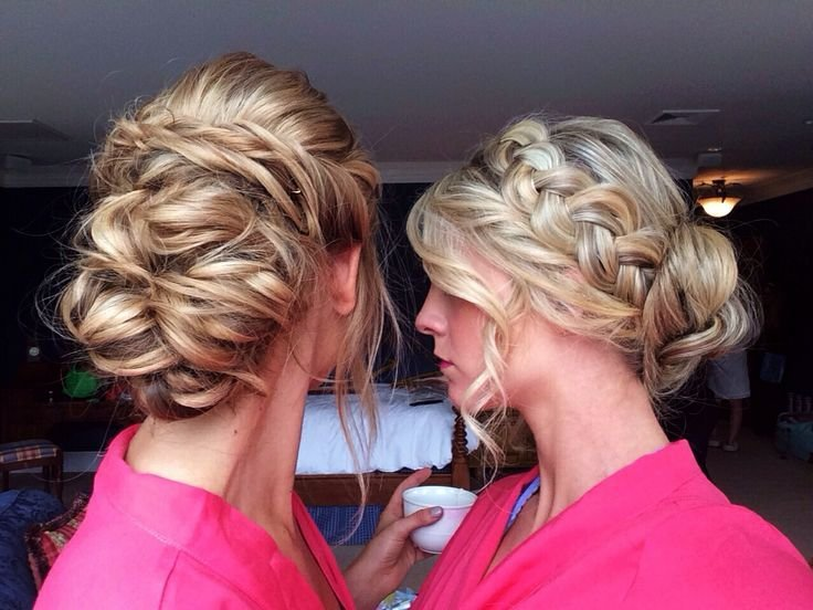 The Best Maid Matron Of Honor Hair By Heather Chapman Wedding Pictures