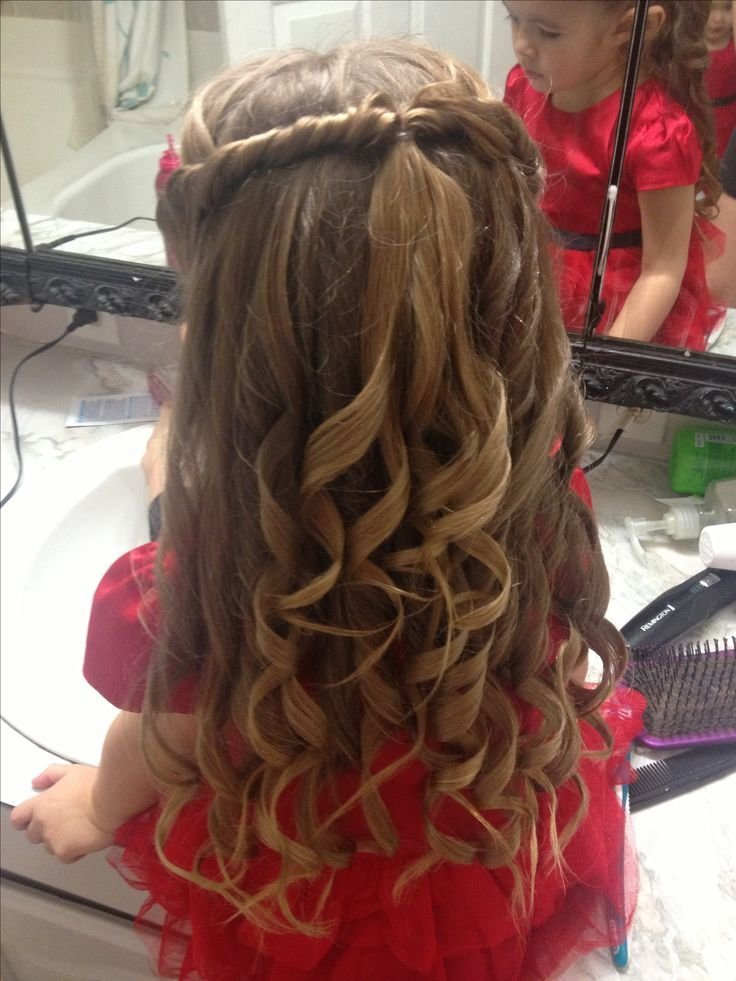 The Best Cute Little Girls Hair Style For A Special Occasion Pictures