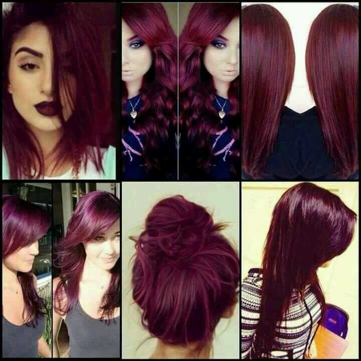 The Best Best 25 Wine Colored Hair Ideas On Pinterest Wine Red Pictures