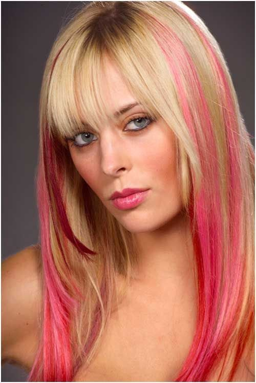 The Best Best 25 Colored Hair Streaks Ideas On Pinterest Pictures