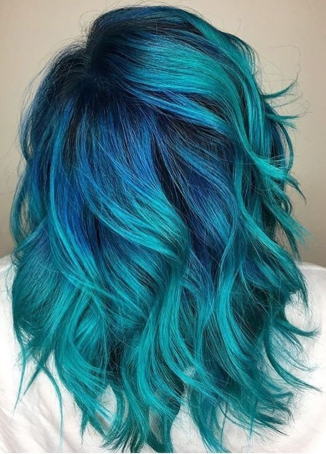 The Best Best 25 Teal Hair Color Ideas On Pinterest Teal Ombre Pictures