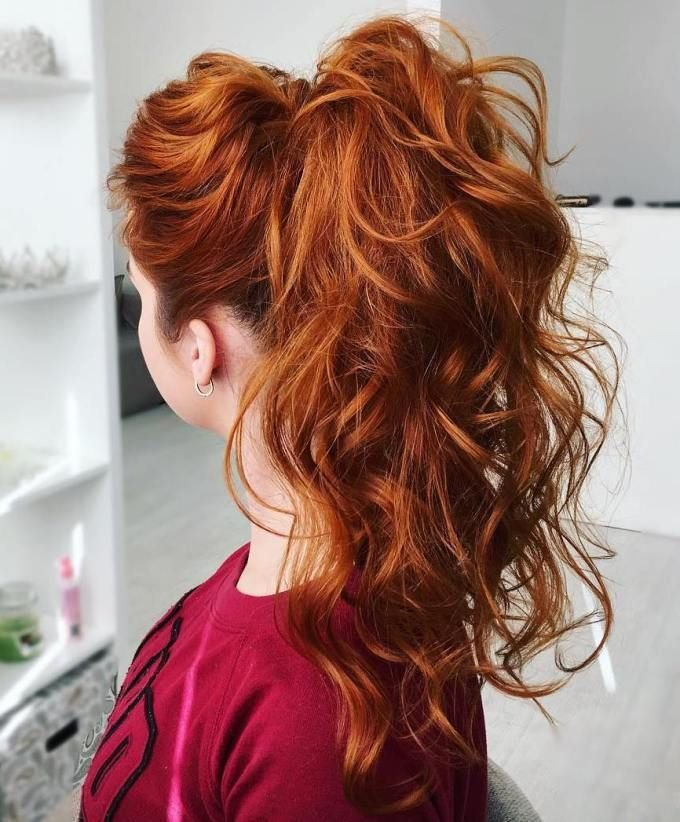 The Best 25 Trending Curly Ponytail Ideas On Pinterest High Pictures