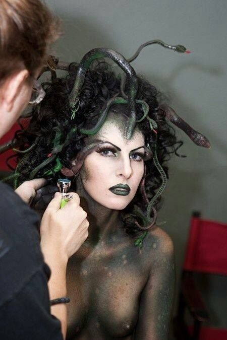 The Best 14 Best Medusa Images On Pinterest Mua Makeup Mythical Creatures And Body Painting Pictures