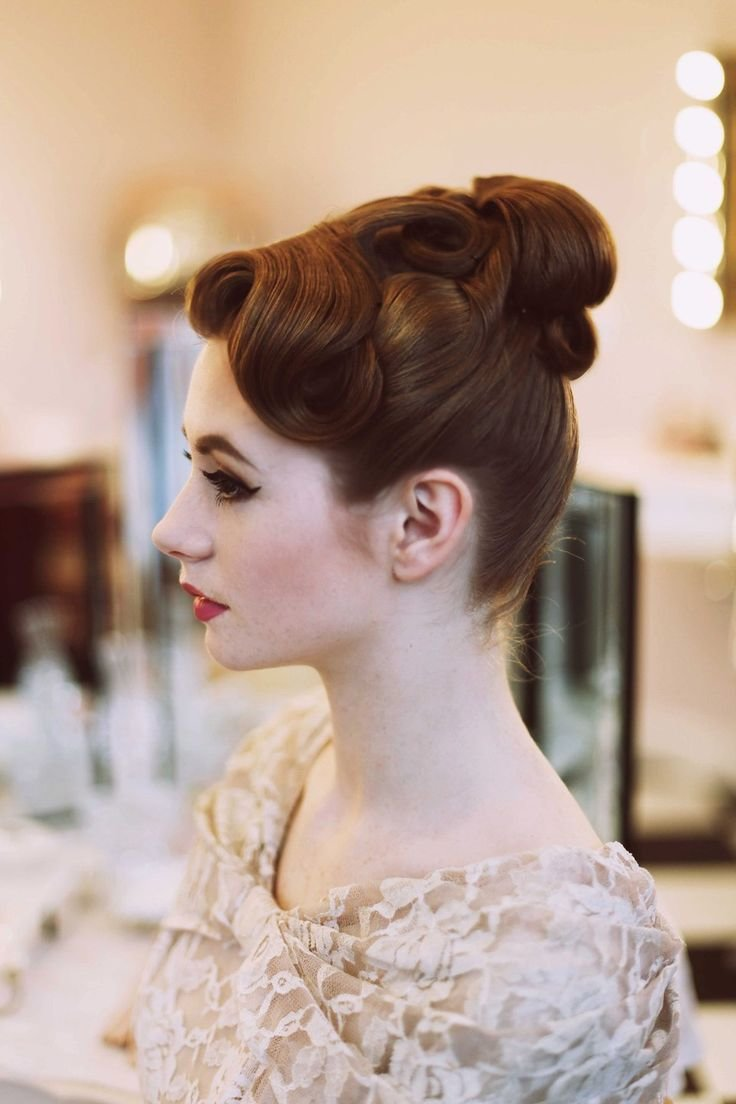 The Best French Pleat Hairstyle 1950 Fade Haircut Pictures