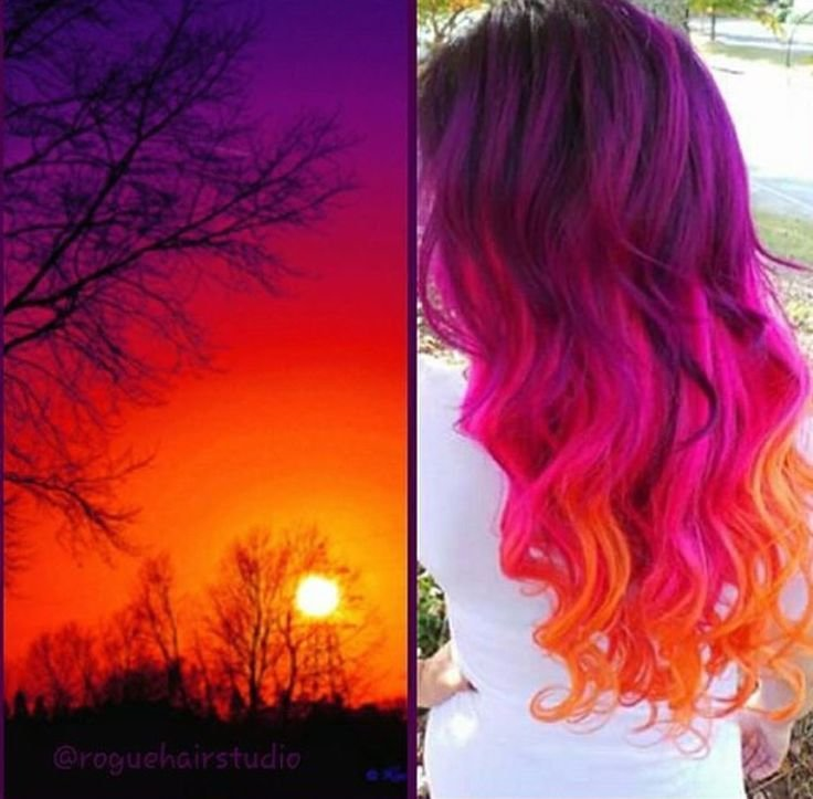 The Best Best 25 Sunset Hair Ideas On Pinterest Ombre Hair Pictures