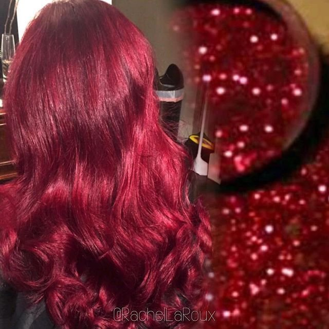 The Best Crimson Red Hair Color And Interpretative Hair Art By Pictures
