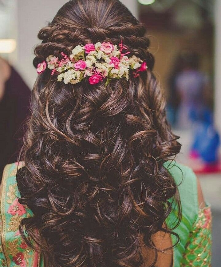 The Best Best 25 Indian Wedding Hairstyles Ideas On Pinterest Pictures