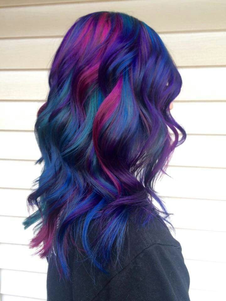 The Best Best 25 Multicolored Hair Ideas On Pinterest Opal Hair Hair Colour Trends And Crazy Hair Colour Pictures