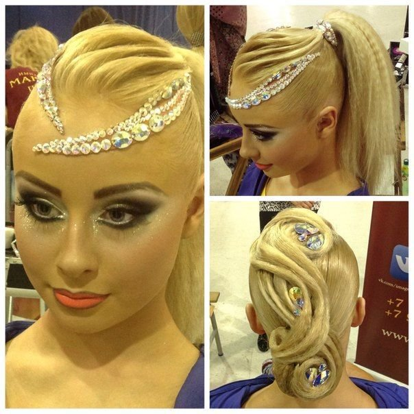 The Best 167 Best Ballroom Hair Makeup And Accessories Images On Pinterest Hair Makeup Hair Dos And Pictures