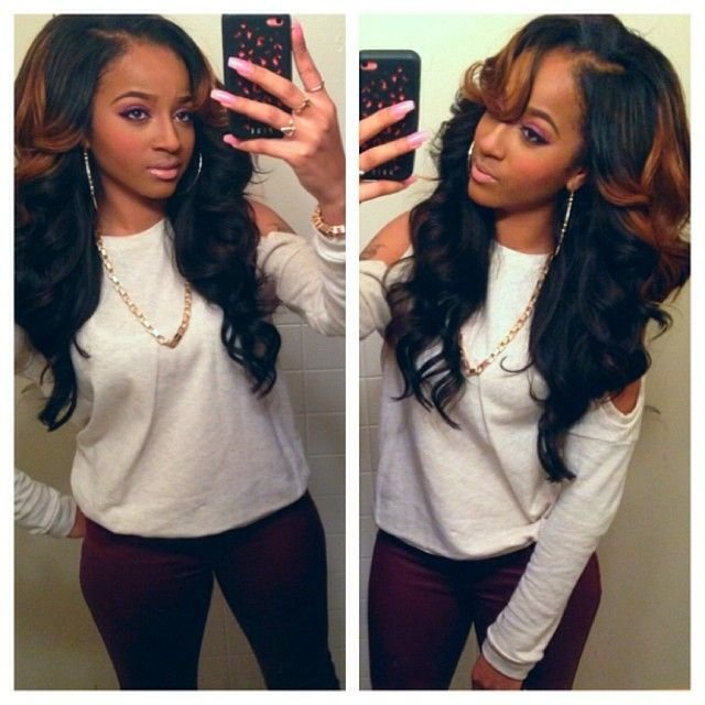 The Best Best 25 Colored Weave Hairstyles Ideas On Pinterest Pictures