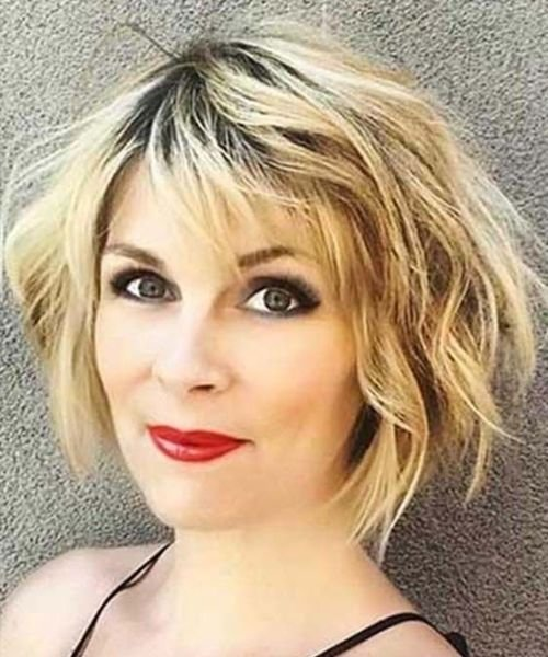 The Best Excellent Short Messy Haircuts 2019 For Women Over 40 Pictures