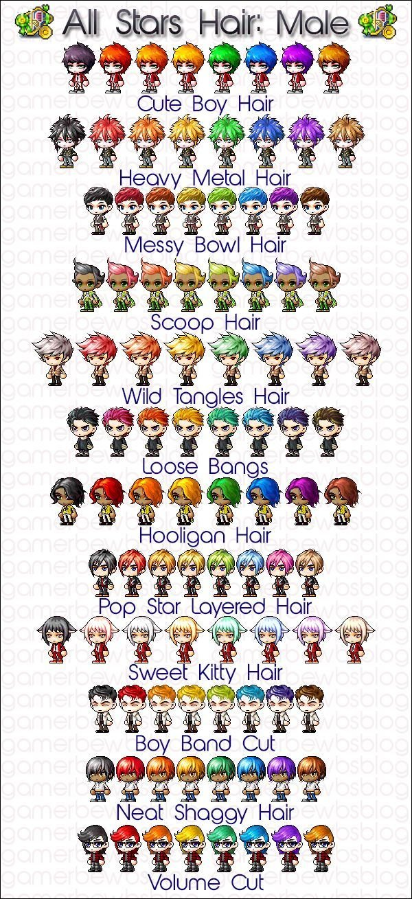 The Best 37 Best Maplestory Hairstyles Images On Pinterest Pictures