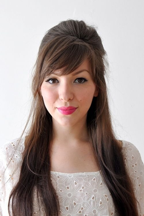 The Best Best 25 Front Bangs Hairstyles Ideas On Pinterest Long Pictures