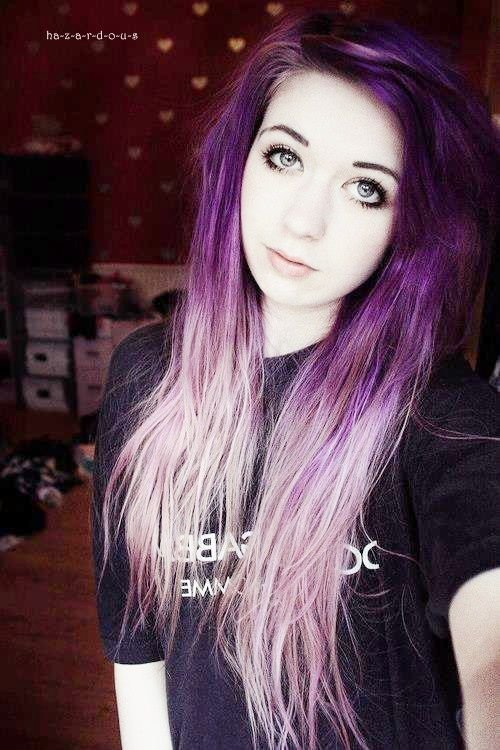 The Best Tumblr Girls With Multi Colored Hair Blue Eyes Colored Pictures