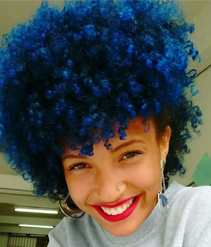 The Best Best 25 Blue Natural Hair Ideas On Pinterest Blue Hair Pictures