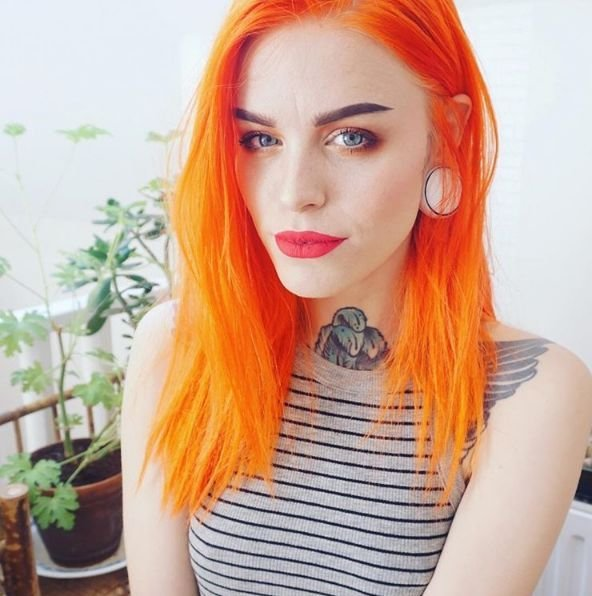 The Best Best 25 Orange Hair Dye Ideas On Pinterest Fire Hair Pictures