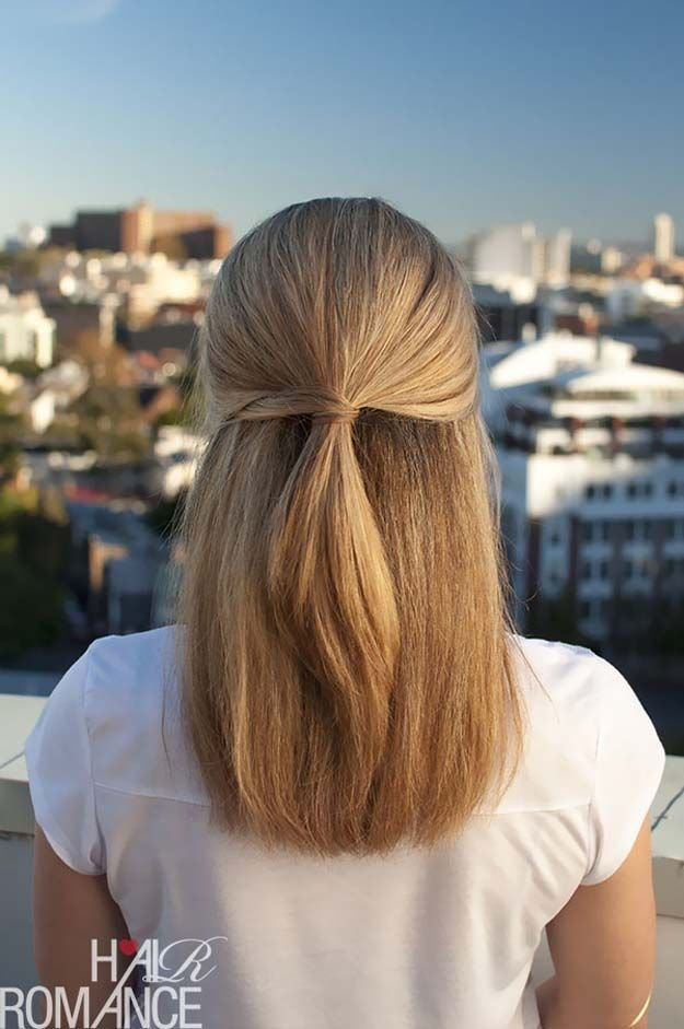 The Best 33 Quick And Easy Hairstyles For Straight Hair Hair Pictures