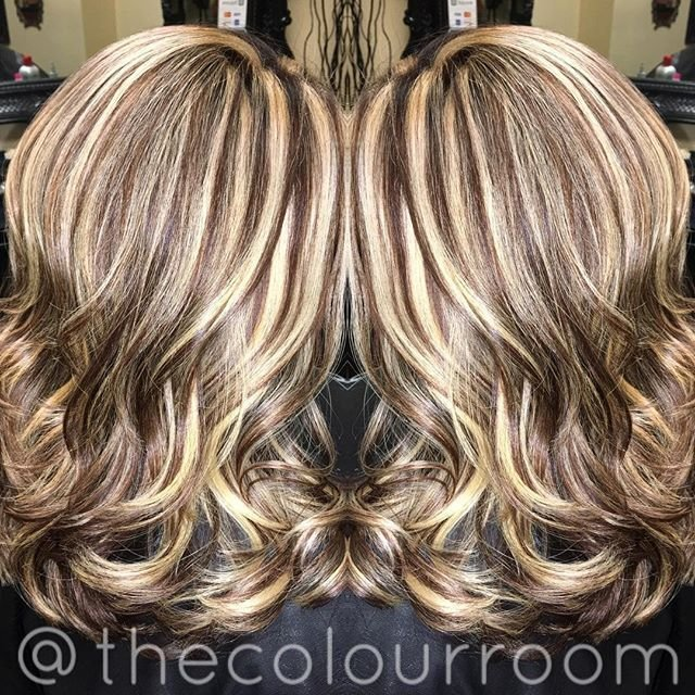 The Best 505 Best Highlighted Streaked Foiled Frosted Hair 1 Pictures